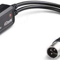 Adaptor audio Dante AVIO 2 canale ieșire analog
