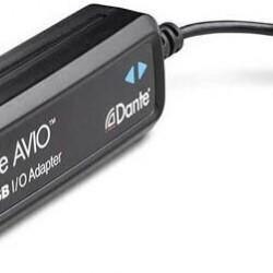 Adaptor audio Dante AVIO 2 canale USB