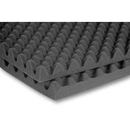 Placă fonoabsorbantă 2000 x 1000 x 60 (30+30) mm GRI