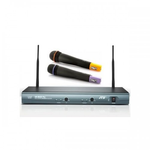 Sistem Cu Doua Microfoane Wireless JTS US-802D Pro / MH-700