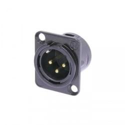 Conector NEUTRIK NC3MD-L-B-1