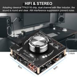 Amplificator stereo Bluetooth