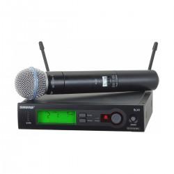 Microfon de Mana Wireless Shure SLX24/Beta58